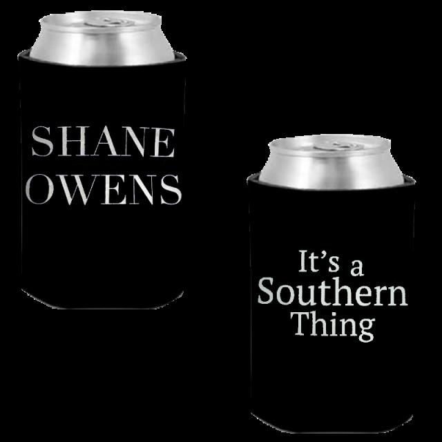 Shane Owens Black Can Coolie
