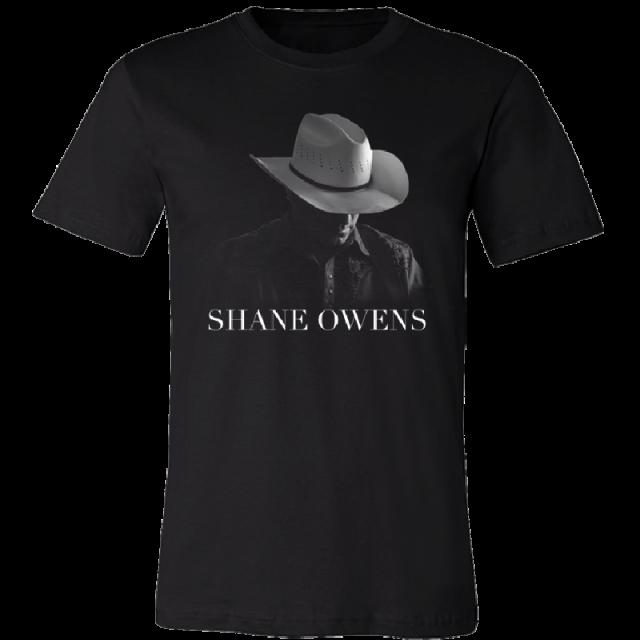 Shane Owens Black Photo Tee