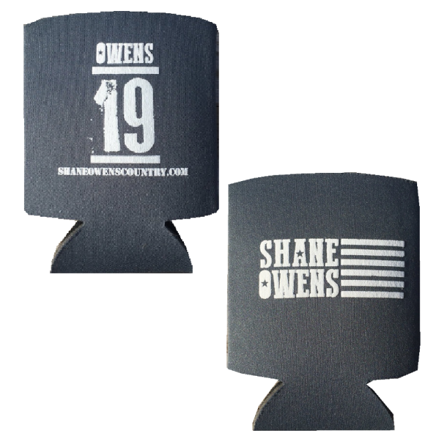 """Shane Owens Grey """"19"""" Can Coolie"""