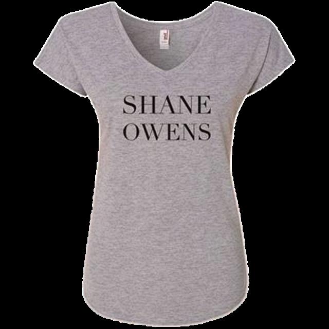 Shane Owens Heather Grey Dolman Top